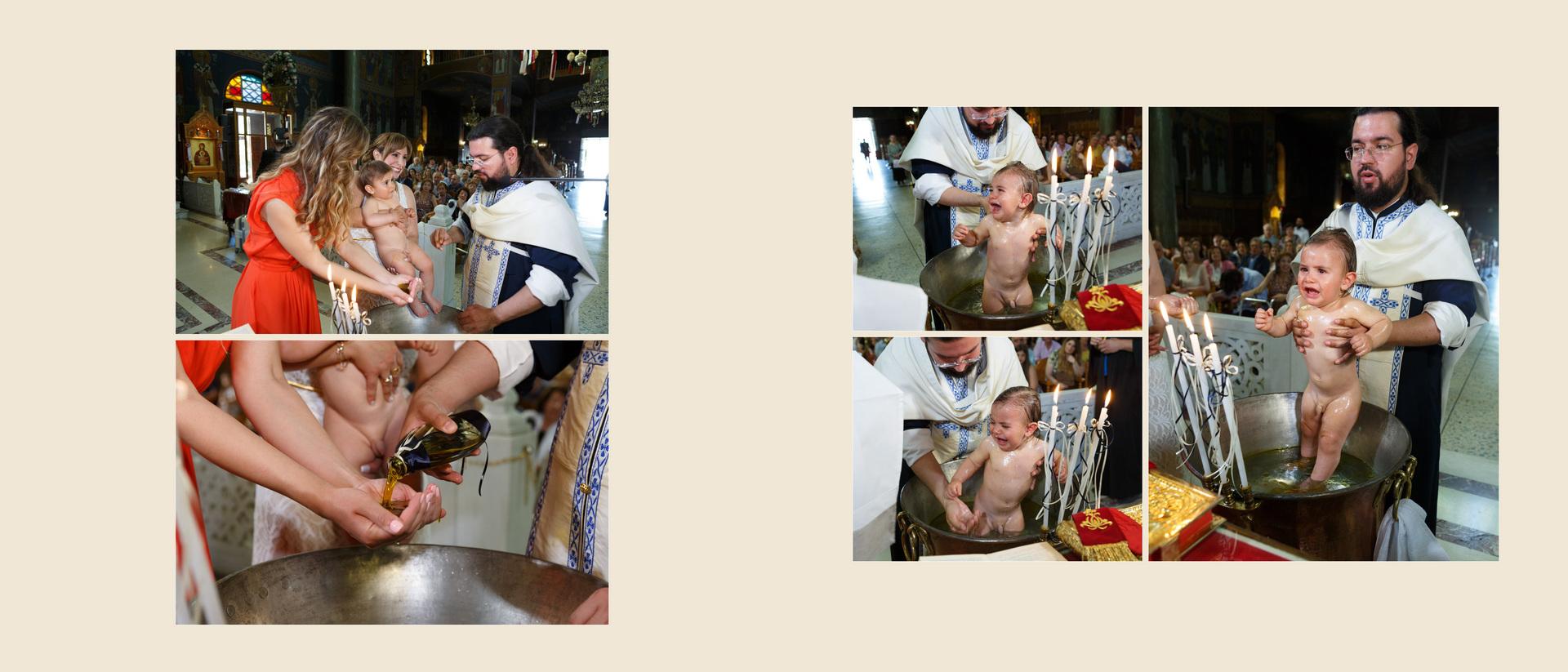 Βάπτιση Φωτογραφία Αθήνα Ζωγράφου Ιερός Ναός Αγίου Θωμά